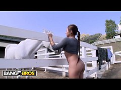 BANGBROS - Horsing Around On The Farm With Asia...