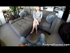 Fucking Glasses - Bubbly ass big-cock Alina Wes...