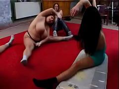 Monique East - BBW Gym Orgy