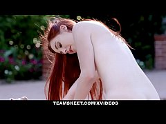 GingerPatch - Cute Redhead Fucked Outside