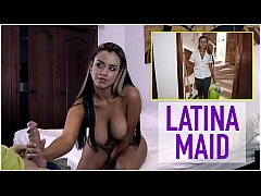 BANGBROS - Big Booty Latina Maid Sofia Cleaning...