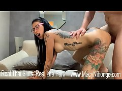 Hardcore Sex Position with Newcy Thai Tattoo Slut