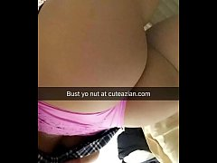 CuteAzian - Official School girl outfit tease