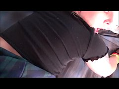 Thick Blonde Sister Surprises Brother After Sch...