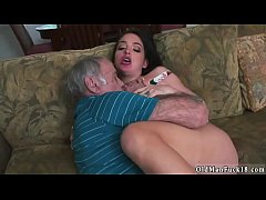 Girl hand smother horny old man masturbate Fran...