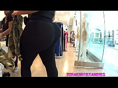 Candid Latina with a Super Big Ass