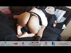 Best Blowjob Of His Life! Big Booty Latina In T...