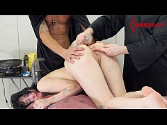 thumb emo babe eats b  reakfast out of her ass prior f her ass prior her ass prior to