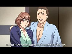 Shareable housewife in hotspring Hentai Anime h...
