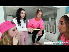 Pretty Babysitters Suck Dick and Drilled