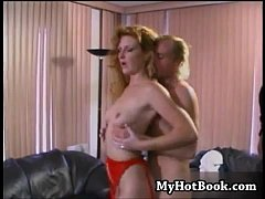 This redheaded MILF gets very excited at the very