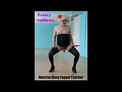 Valery roleplay sissy-faggot teacher