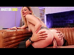 AMATEUR EURO - Newbie Babe Lexy Bee Blows And G...