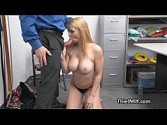 Broke wife busted and fucked for stealing