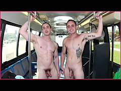 GAYWIRE - Straight Guy Gets Turned Out Aboard The Project City Bus