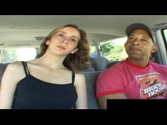 Kelly Wells is pounded by two black dick