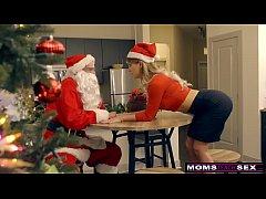 MomsTeachSex - Santa's Horny Helpers In Christm...