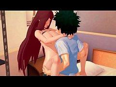 R013 Kushina [Naruto] Animated Sex Scene MILF H...