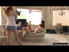 Nubiles Casting - An unexpected threesome for t...