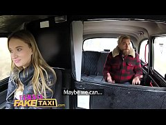 Female Fake Taxi Sexy Englishman pays for czech...