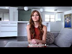 CastingCouch X Blue eyed redhead Miley Cole fuc...