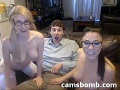 Threesome webcam show