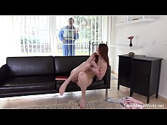 Old-n-Young.com - Ariadna - Older man plays wit...