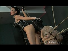BDSM XXX Slave boy gets tied up and receives mo...
