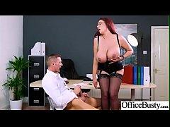 Hard Sex In Office With Big Tits Slut Girl (Emm...
