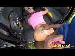 Female Fake Taxi Masked fare fucks hot tattooed...