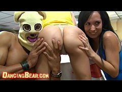 DANCING BEAR - Group Of Horny Hoes Taking Dick ...