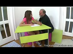 Tricky Old Teacher - Ulia is a sexy young stude...