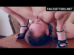 Facesitting, pussylicking and face riding - crazy BrutalFacesitting video