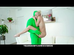 ExxxtraSmall - Skinny Blonde Fucks Around With ...
