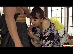 Horny mil Yui Oba enjoys hard sex with younger ...
