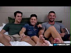 Naughty Boys In Horny Threesome