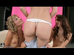 Lesbian Threesome with Sophie Moone, Ioana and Amirah Adara