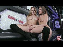 GIRLS GONE WILD - Kelly Works The Vibrator On W...