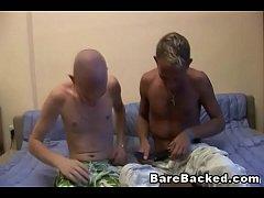 Couples having barebacked anal sex