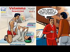 Velamma Episode 75 - Sexercise