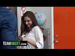InnocentHigh - Horny Schoolgirl Elektra Rose Le...