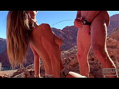 Golden Shower in Red Rock Canyon