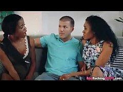 Ebony Stepmom Fucking Daughter s Boyfriend - XVIDEOS.COM