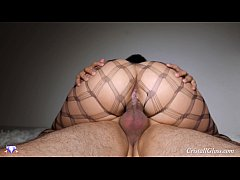 MILF Suck Cock and Big Ass Riding Closeup - Cri...