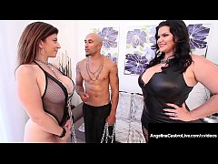 Curvy Cuban Angelina Castro & Big Black Cock Fu...