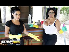 BANGBROS - My Two Dirty Maids Sheila Ortega and...