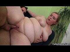 Big belly fatty seduces a stranger for money