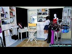 Nasty Wild Lesbo Girl Punish Cute Lez Girl (darcie jelena) clip-19