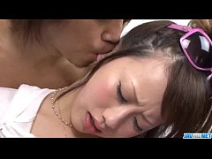 Deep pounding in POV for tight Japanese Kanae S...