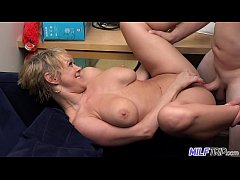 MILF Trip - Super horny blonde big-boobed MILF ...